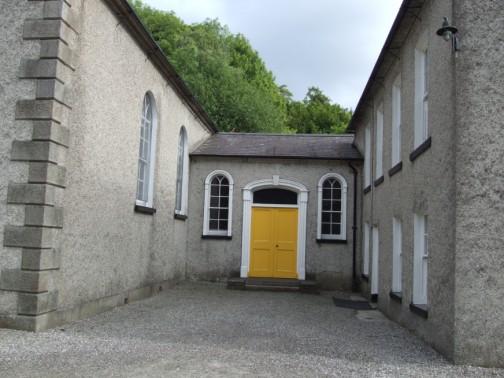 Entrance to main reception hall