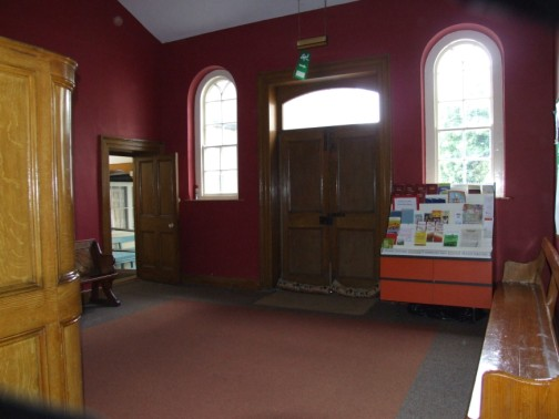 Main reception hall