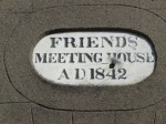 Date plaque at Wexford Town Meeting House