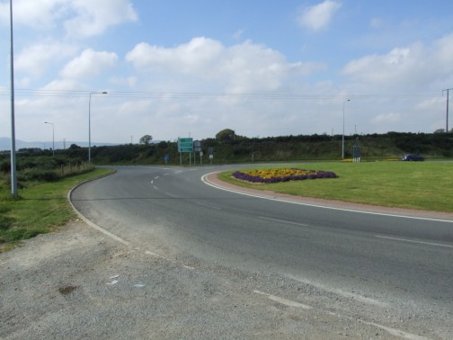 Ballinclay Burial Ground situated beside Gorey roundabout at the end of the M11