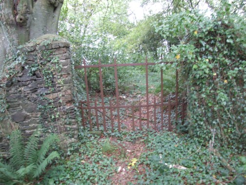 Inner entrance gate to Corlican Burial Ground